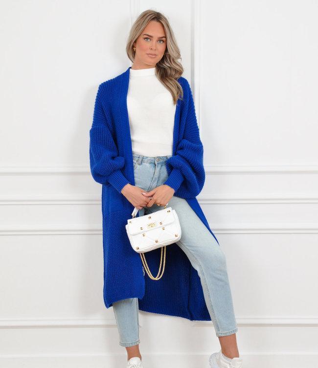 Femke vest blue