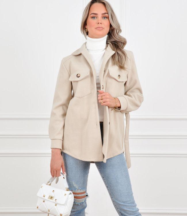 Rosa jacket beige