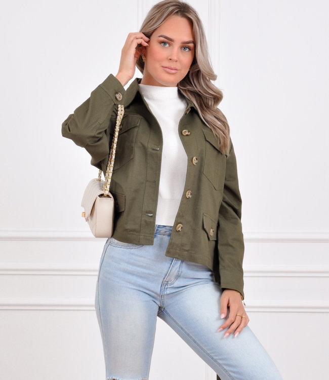 Liya jacket green