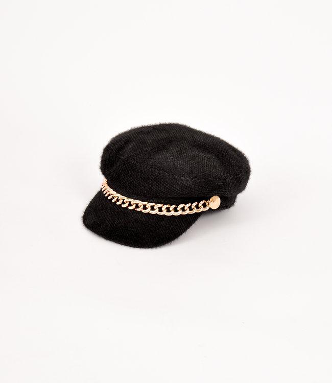 Nina cap black
