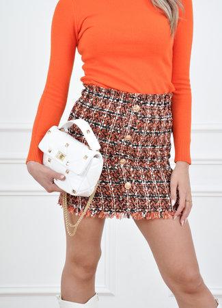 Megan skirt orange