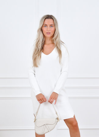 Lott dress white