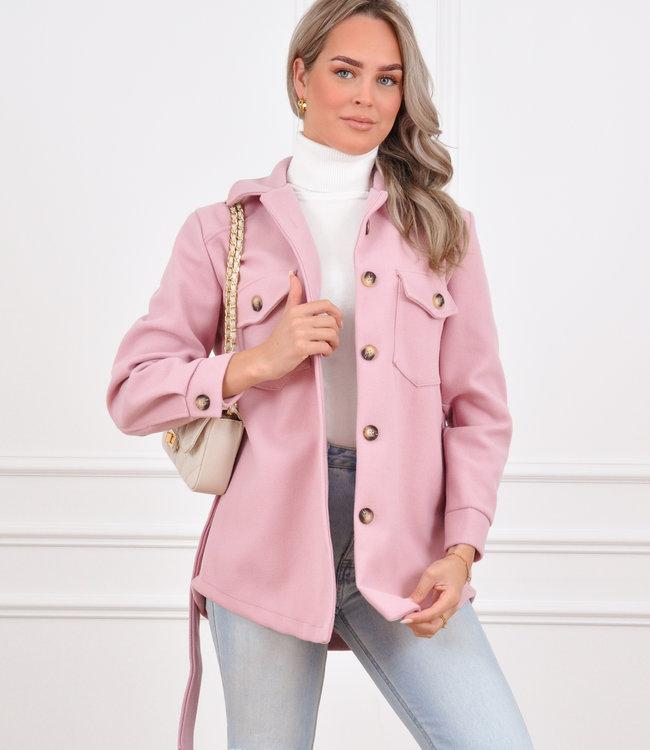 Rosa jacket old pink