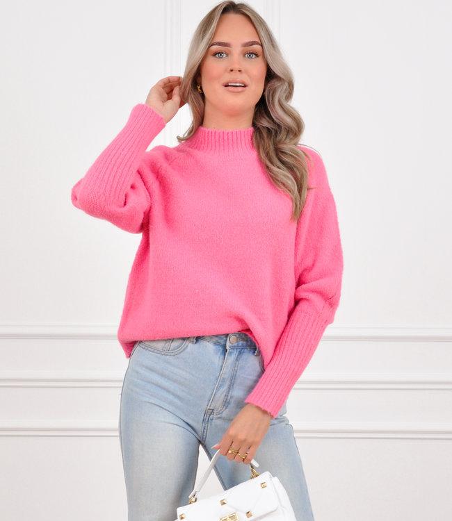 Kim knit fuchsia