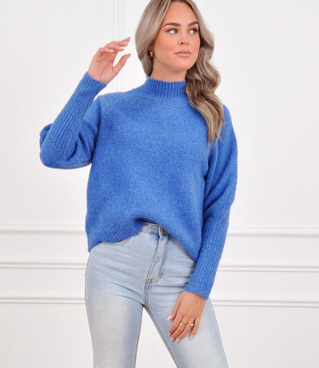 Kim knit kobalt