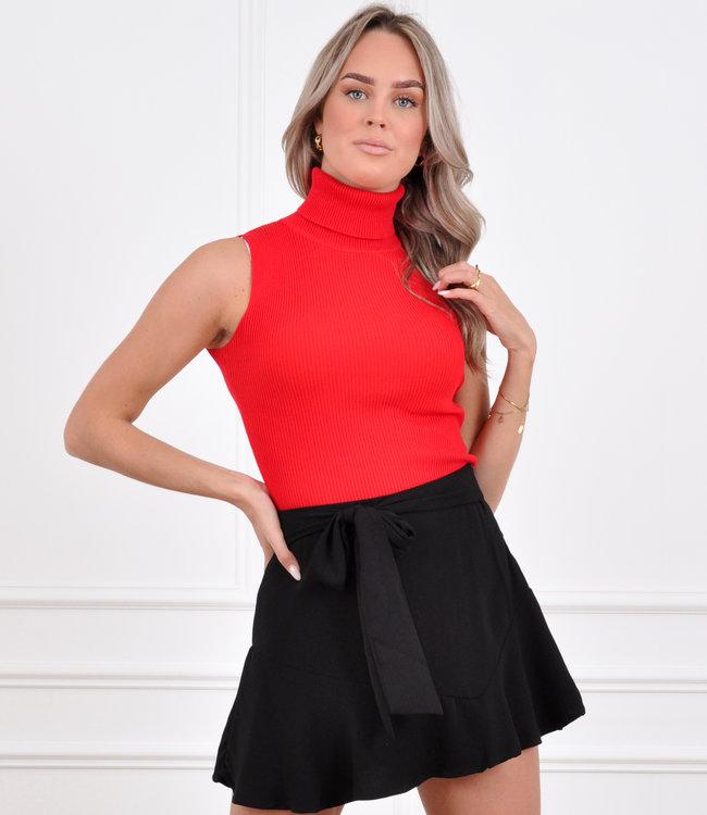 Lisa top red