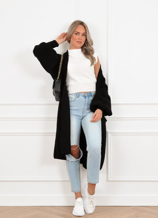 Femke vest black