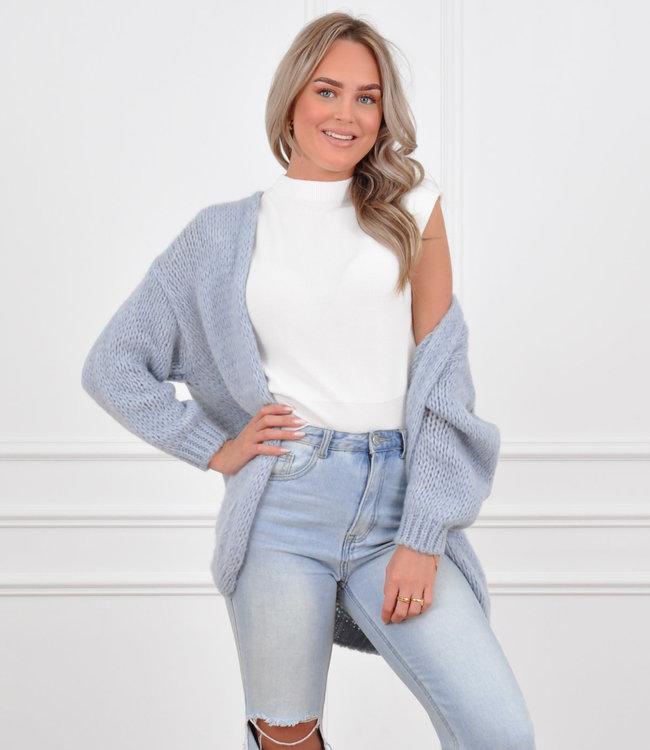 Jessie vest blue