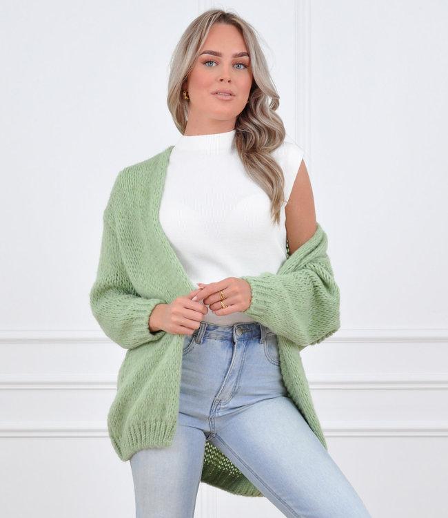 Jessie vest spring green