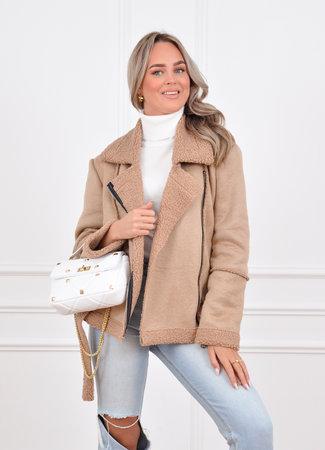 Lammy coat beige
