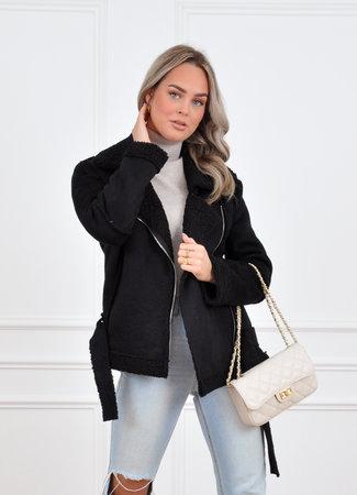 Lammy coat black