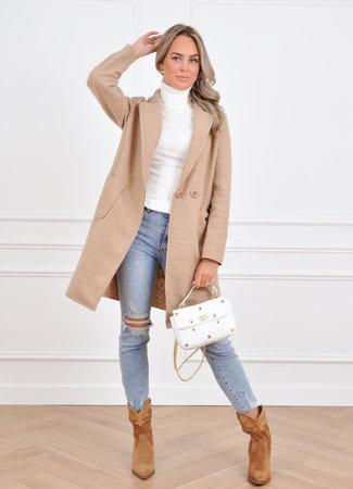 Loes coat beige