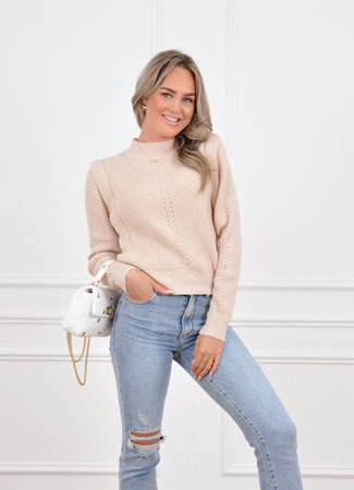 Zaar knit beige
