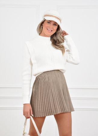 Aya skirt beige