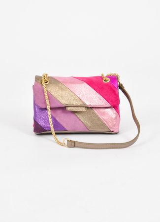 Rainbow bag lila