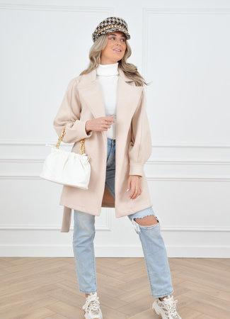 Maud coat beige