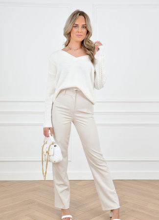 Romy pantalon beige