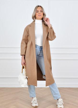 Hannah coat brown