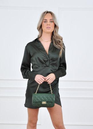 Nadia dress green