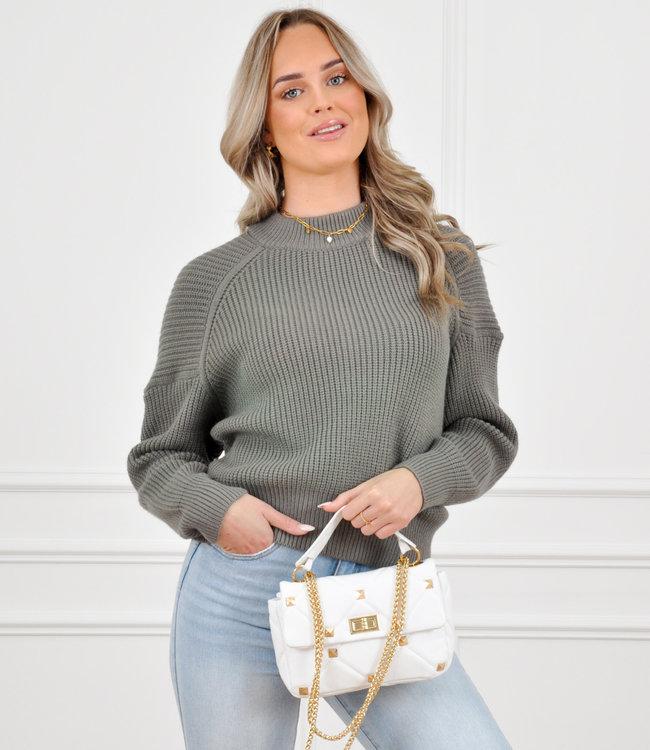 Joyce knit green
