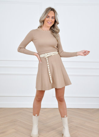 Cayley dress camel