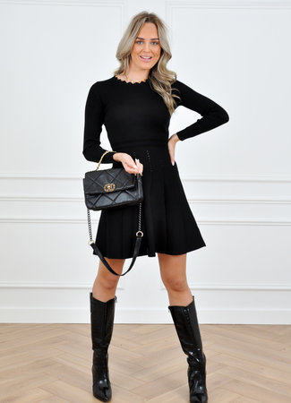 Cayley dress black