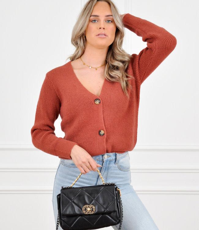 Pixie vest roest