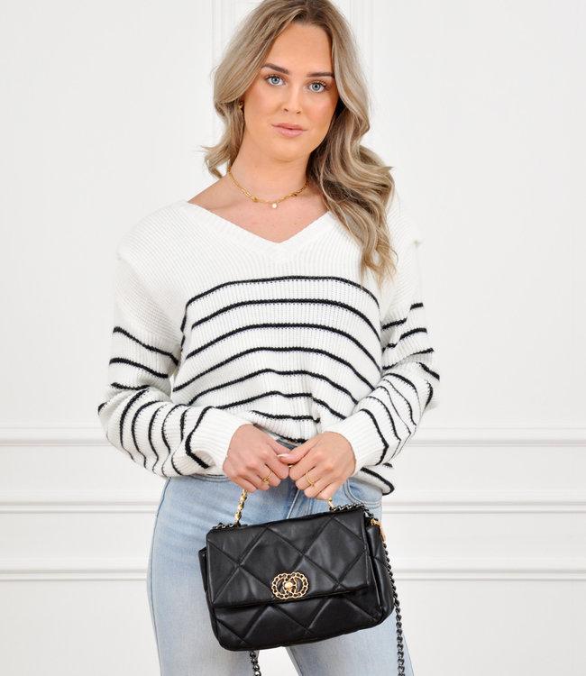 Romie knit stripe