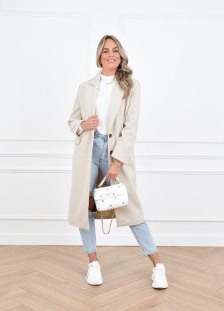 Milou coat beige