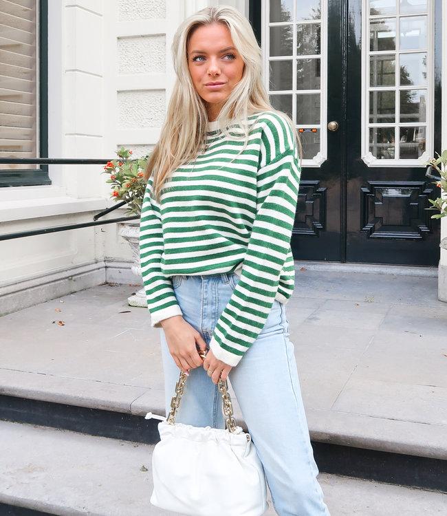 Doutzen knit green