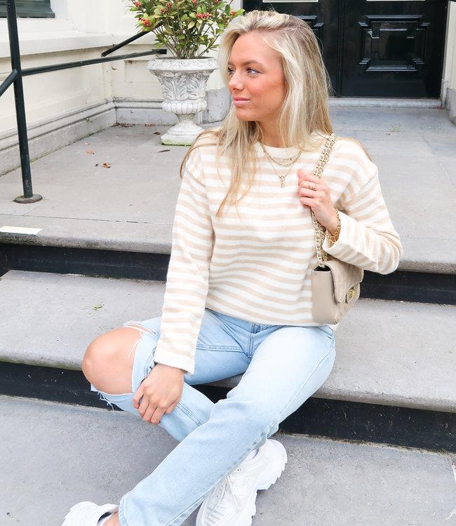 Doutzen knit beige
