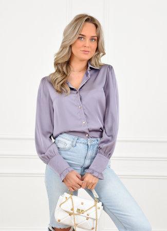 Myran blouse purple