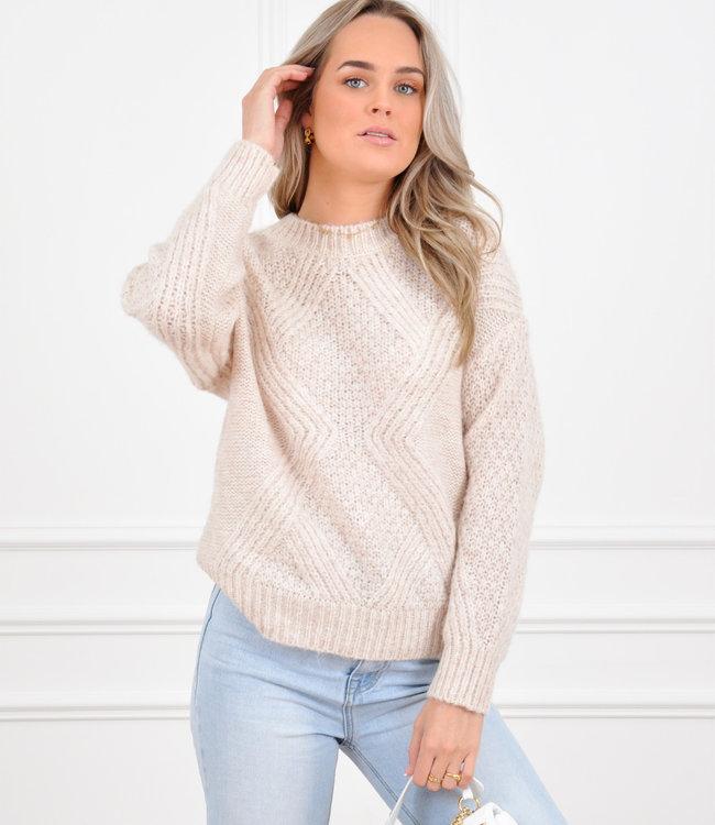 Julia knit beige