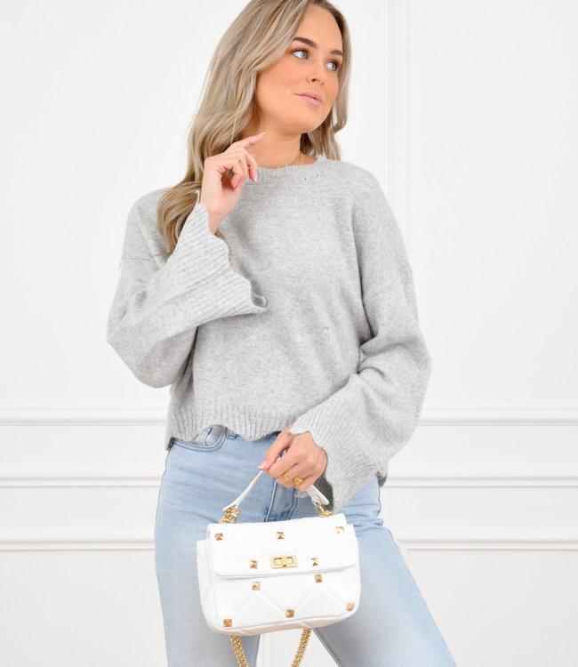 Lotte knit grey