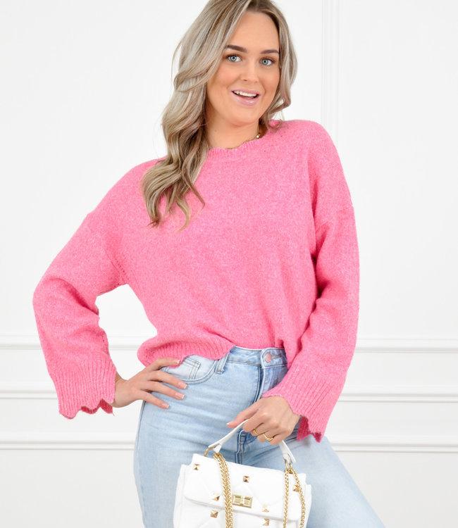 Lotte knit pink