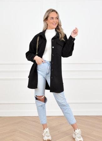 Myra coat black
