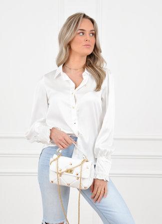 Myran blouse white