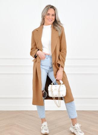 Milou coat camel