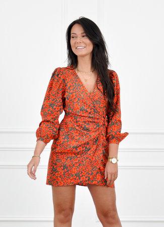 Kirsten dress red