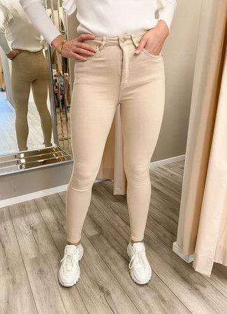 Kacy jeans beige