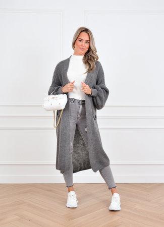 Femke vest grey