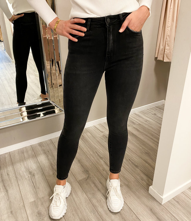 Fem jeans black