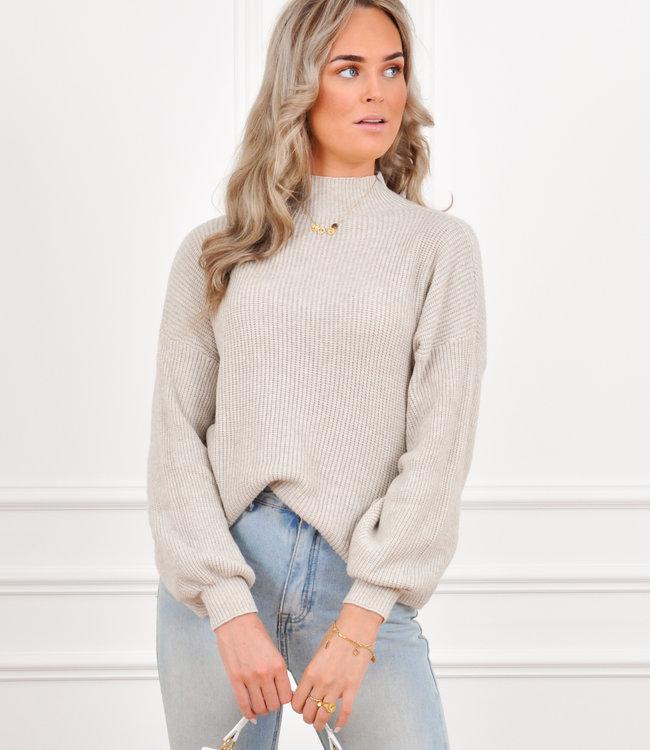 Lexie knit beige