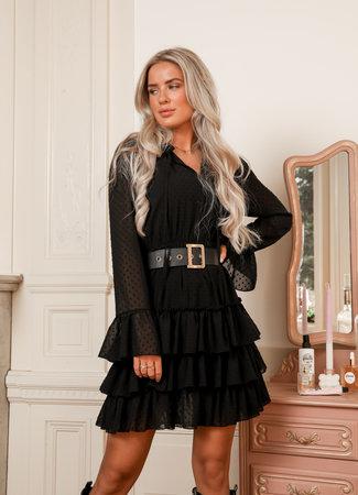 Wondering dress black