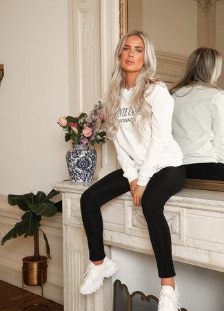 Monaco sweater white