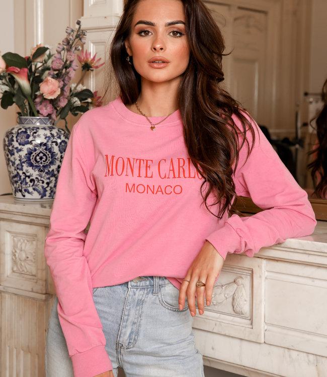 Monaco sweater pink