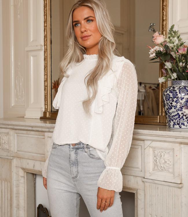 Dreamy blouse white