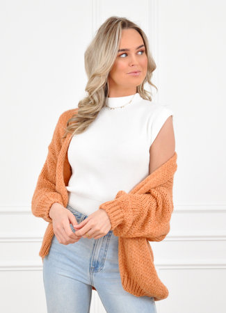 Jessie vest orange