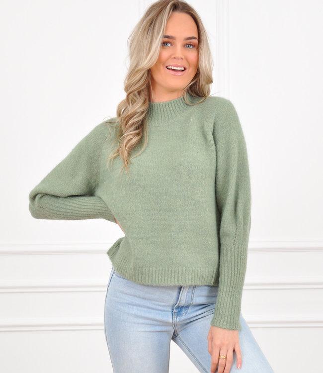 Kim knit olive