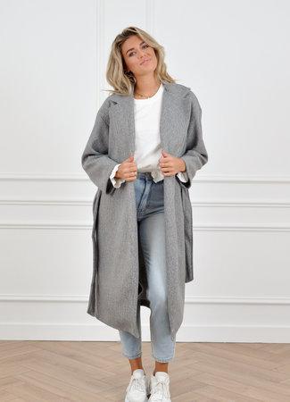 Hannah coat grey